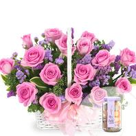 핑크다이아몬드+사탕